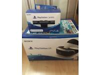 PlayStation 4 VR Headset and Camra