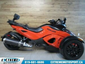 2012 Can-Am Spyder RS S 63.65$/SEMAINE