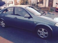 Nissan primera -with low mileage for sale