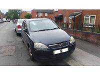 Vauxhall Corsa 1.2.. 5 Door 2005. long MOT & taxed may swap