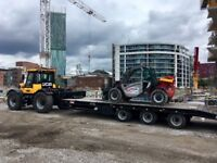 Tractor and low loader hire