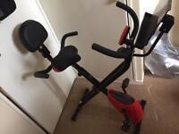 Folding Magnetic Exercise Bike