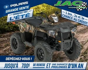 2017 polaris Sportsman 570 Pursuit EPS 30.66$/sem* Vtt 4 roues Q