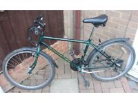 """Rayleigh Outland 26"""" 21 speed bicycle."""