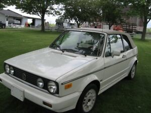 1988 Volkswagen Golf Convertible