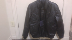 Best Italian emporia and co leather jacket brand new