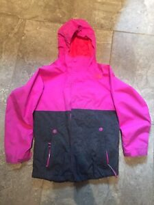 Girls  North Face 3 in 1 jacket size 10/12