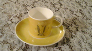 FINE BONE CHINA DEMITASSE FOR ESPRESSO, SUSIE COOPER, England