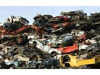 Scrap cars vans caravans trailers m