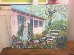 Large Garden Painting