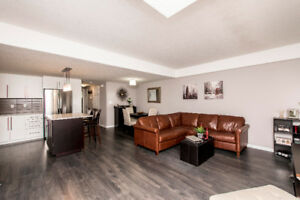 PRIVATE End Unit Huron Village Condo
