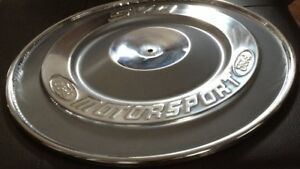 Mustang rare Ford Motorsport Chrome air cleaner
