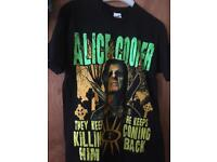 Alice Cooper graveyard t shirt small or xxl