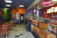 1 Food Counter Attendant FULL TIME/PART TIME Positions Quiznos!