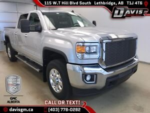 Used 2015 GMC Sierra 2500HD SLE Crew Cab-Diesel-Heated Leather B