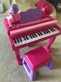 Kids Pink Music Station (keyboard)