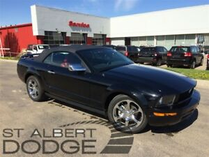 2005 Ford Mustang CONVERTIBLE | 5SPD MANUAL | RED LEATHER