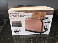 Good mans copper toaster