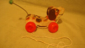 Fisher Price pull along dog for Sale