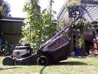Qualcast Trojan 16 petrol lawnmower