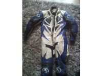 Mens motor bike leathers,in good condition,ideal track day suit,would fit upto 5,10 ,height