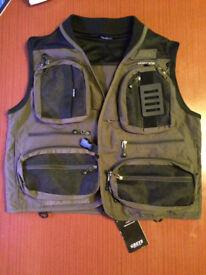 Greys medium fly vest / angling jacket
