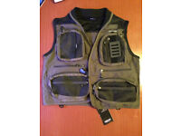 Greys medium fly vest / angling jacket