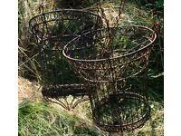 Hanging Baskets, ornate