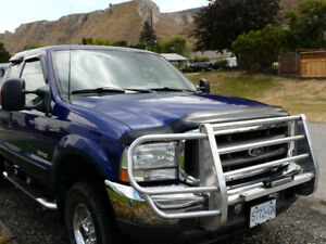 2003 250 Ford Super Duty 4X4 6.0 Diesel Lariat Pickup Truck