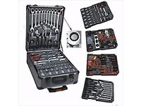 256pcs Professional Tools Kit In Wheeled Carry Case