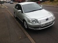 Toyota Avensis 1.8 VVT-i T3-X 5dr ,Automatic,12 months M.O.T