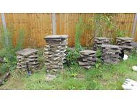 450 x 450 concrete slabs. 40mm thick