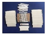 COMPLETE 'RENOVATION KIT' FOR UPGRADING 3.5in VERTICAL BLINDS (BRAND NEW)