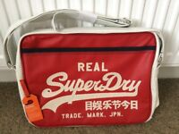 BRAND NEW Superdry Mash Up Alumini Bag