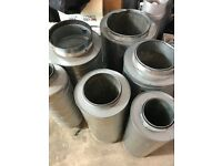 """Cheshunt Hydroponics Store - used 10"""" silencer"""