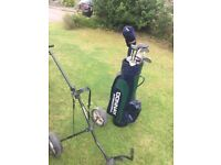 Donnay Golf Clubs Bag & Trolley