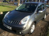 NISSAN NOTE 1,5 DCI SE 2006 5-DOORS METALIC GREY