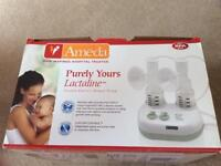 Ameda Purely Yours, Lactaline, Double Electric Breast Pump