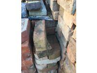 Old bullnose bricks