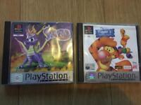Two ps1 games
