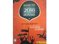 PANINI ROAD TO RUSSIA 2018 STICKERS FOR SWAP