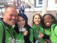 UK Roaming Live-In Charity Door to Door Fundraising £253-306 & Bonuses Weekly - No Experience Needed