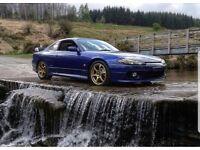 JDM Nissa Silvia S15 SR20DET SWAP Scoob spec c/ra Or Evo 8
