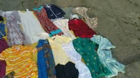 Vintage clothing job lot props theatre studio filming stall fair