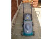 Good condition electric lawn mower