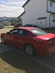 2011 Dodge Charger (RED)