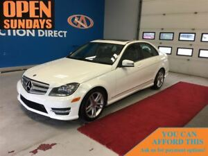 2013 Mercedes-Benz C-Class 300 4MATIC AWD! SUNROOF! LEATHER!