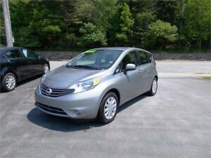 2014 NISSAN VERSA NOTE HATCHBACK...LOADED!! ONLY $99 BIWEEKLY!!!