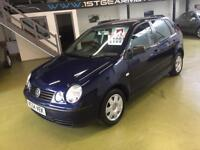 Volkswagen polo 1.2 S65 49000 1 owner, service history 11 month mot. History
