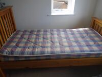 Single bed & Mattress (Julian Bowen bed) good condition